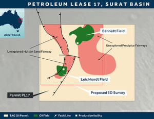 TAG Oil Australia permit