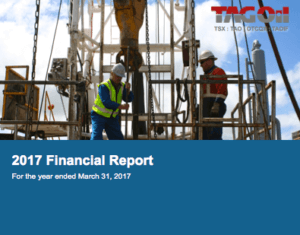 TAG 2017 Financial Report