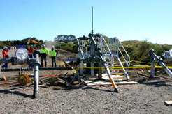 Pig (pipeline inspection gauges) launchers to maintain the pipelines from C-to-A, A-to-C, and C-to-Vector, without having to interrupt the flow of hydrocarbons.