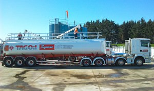 We're pretty chuffed with our new fleet of TAG Oil petroleum transport trucks... what more is there to say?