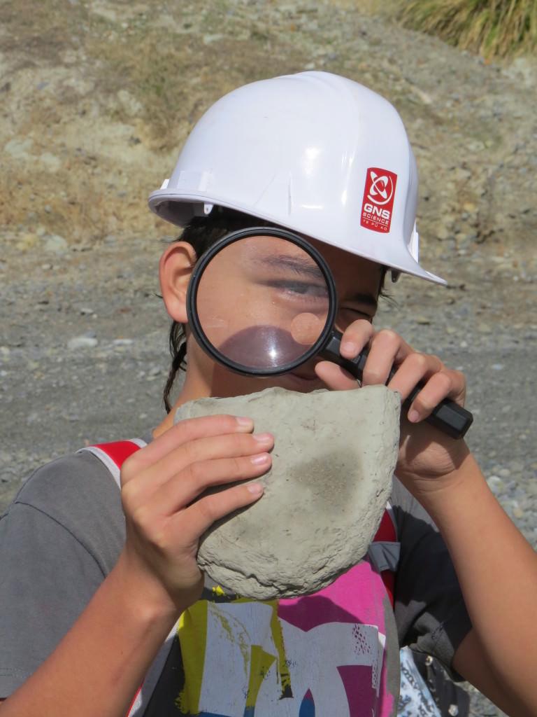 TAG Oil Community Involvement, Geology Rocks!