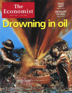 Covers of the Economist